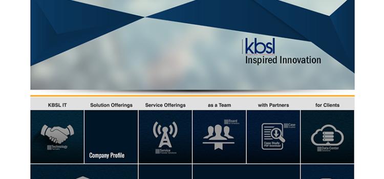 KBSL IT Corporate Website